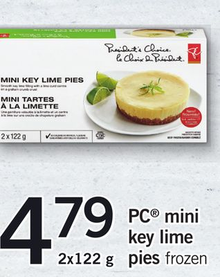 PC Mini Key Lime Pies - 2x122 g