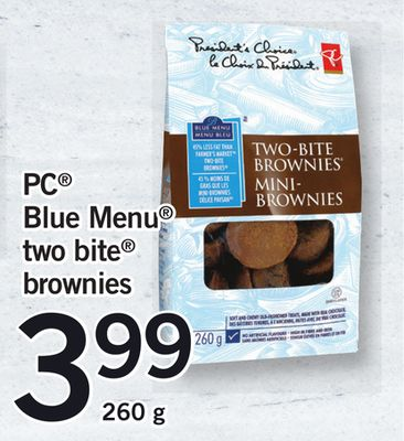 PC Blue Menu Two Bite Brownies - 260 g