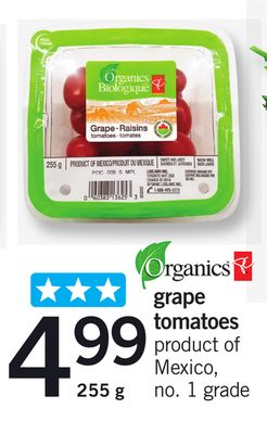Grape Tomatoes - 255 g