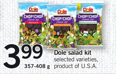 Dole Salad Kit - 357-408 g