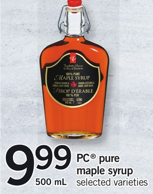PC Pure Maple Syrup - 500 mL