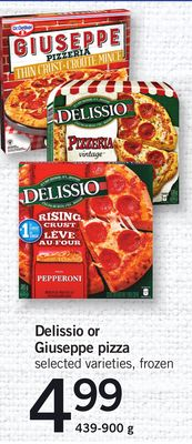 Delissio Or Giuseppe Pizza - 439-900 g