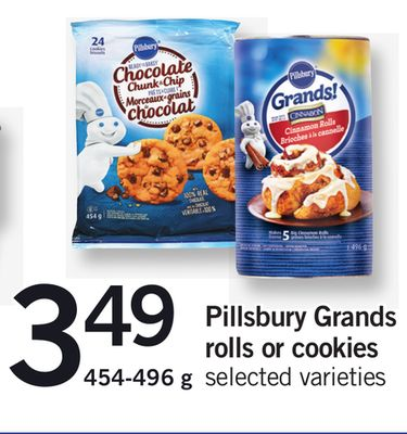 Pillsbury Grands Rolls Or Cookies - 454-496 g