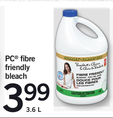PC Fibre Friendly Bleach - 3.6 L