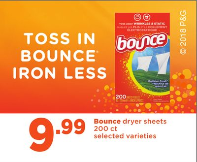 Bounce Dryer Sheets - 200 Ct