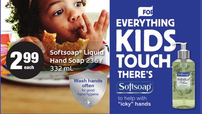 Softsoap Liquid Hand Soap - 236 / 332 mL