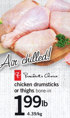 Chicken Drumsticks Or Thighs