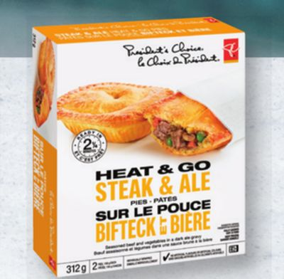 PC Heat & Go Pies - 290/312 g