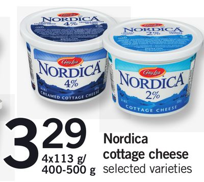 Nordica Cottage Cheese - 4x113 G/400-500 g