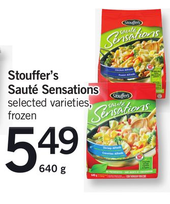 Stouffer's Sauté Sensations - 640 g