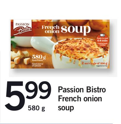 Passion Bistro French Onion Soup 580 g