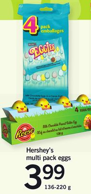 Hershey's Multi Pack Eggs - 136-220 g
