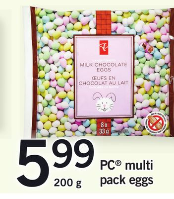 PC Multi Pack Eggs - 200 g