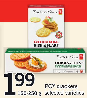 PC Crackers - 150-250 g