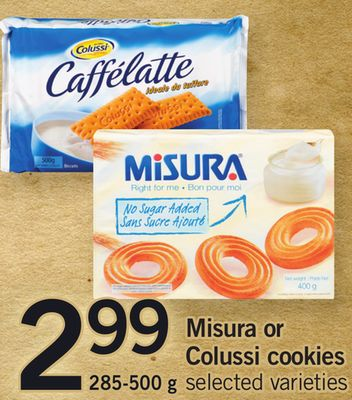 Misura Or Colussi Cookies - 285-500 g