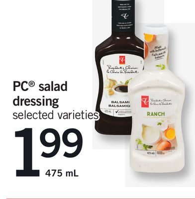 PC Salad Dressing - 475 mL