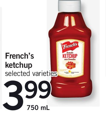 French's Ketchup - 750 mL