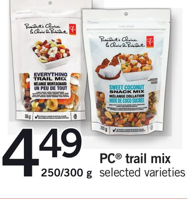 PC Trail Mix - 250/300 g
