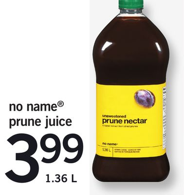 No Name Prune Juice - 1.36 L