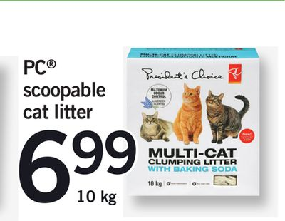 Scoopable Cat Litter - 10 Kg