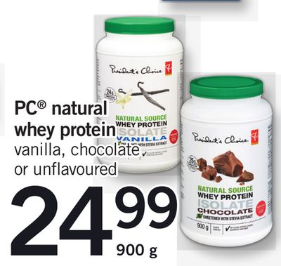 PC Natural Whey Protein - 900 g