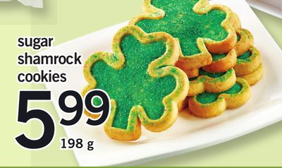 Sugar Shamrock Cookies - 198 g
