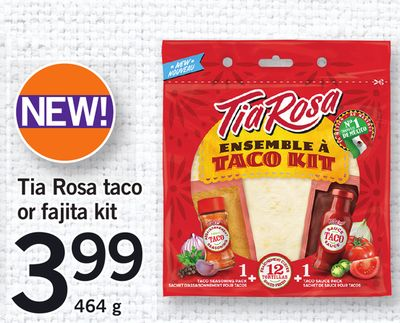 Tia Rosa Taco Or Fajita Kit - 464 g