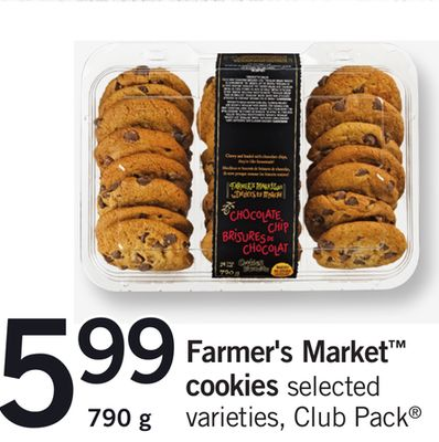 Farmer's Market Cookies - Club Pack - 790 g