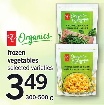 Frozen Vegetables - 300-500 g