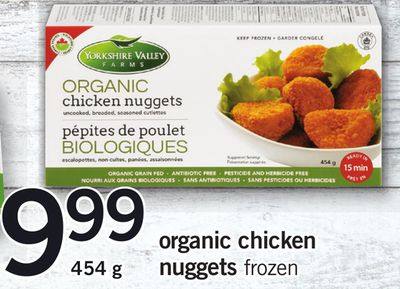 Organic Chicken Nuggets - 454 g