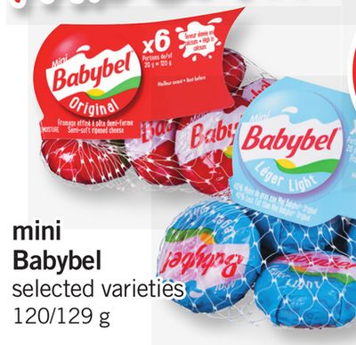 Mini Babybel - 120/129 g