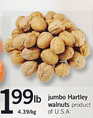 Jumbo Hartley Walnuts