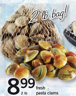 Fresh Pasta Clams - 2 Lb