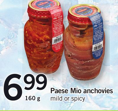 Paese Mio Anchovies - 160 g