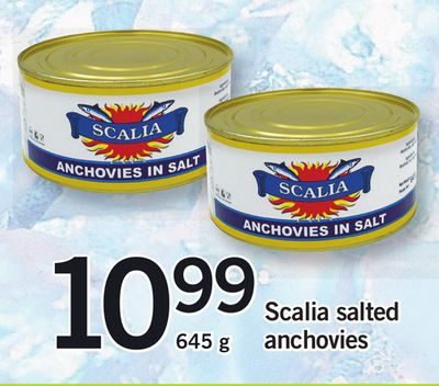 Scalia Salted Anchovies
