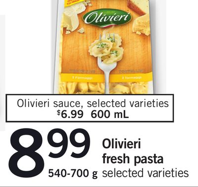 Olivieri Fresh Pasta - 600 mL
