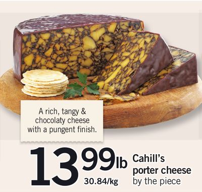 Cahill's Porter Cheese