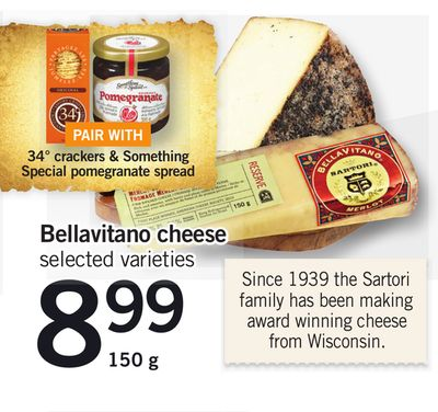 Bellavitano Cheese - 150 g