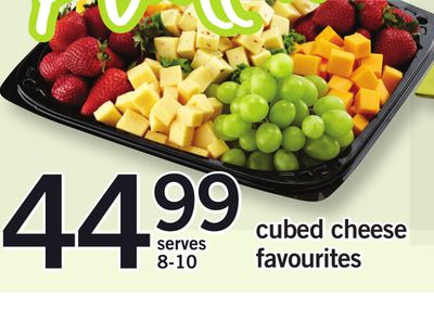 Cubed Cheese Favourites