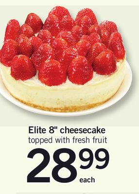 Elite 8'' Cheesecake