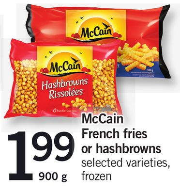 Mccain French Fries Or Hashbrowns