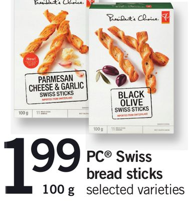 PC Swiss Bread Sticks - 100 g