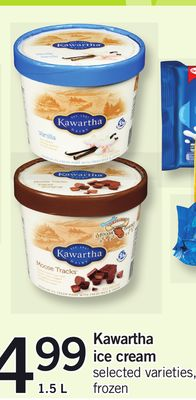 Kawartha Ice Cream - 1.5 L