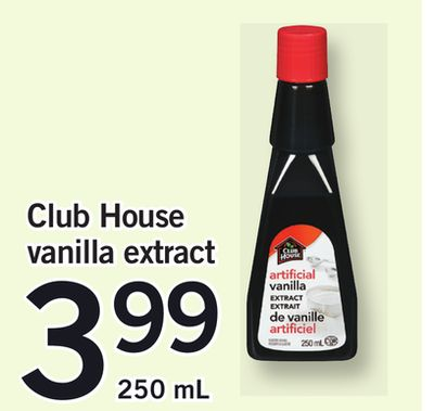 Club House Vanilla Extract - 250 mL