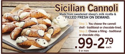 Sicilian Cannoli - 6 or More