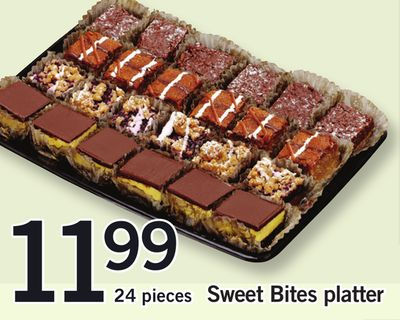 Sweet Bites Platter - 24 Pieces