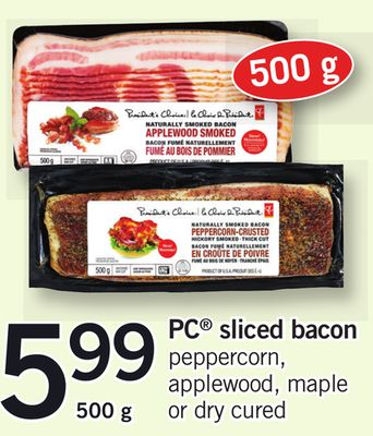 PC Sliced Bacon - 500g