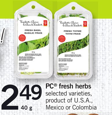 PC Fresh Herbs - 40 g