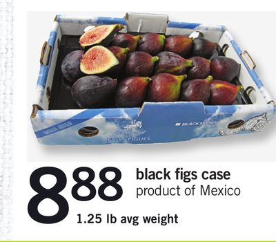 Black Figs Case - 1.25 Lb Avg Weight