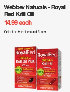 Webber Naturals-royal Red Krill Oil